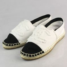 CHANEL 2013 Espadrilles -.. I really just might have to buy these...