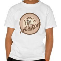 Future Architect Kids Occupation T Shirt, Hoodie Sweatshirt
