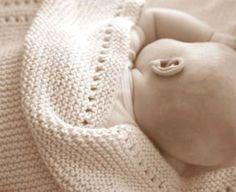 baby blaket knit pattern | Easy Baby Blanket Knitting Patterns For Beginners