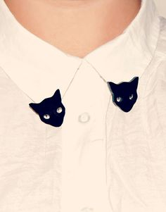 Kitty Collar Tips, any animal or figure will do. Great idea.