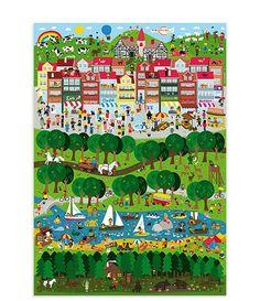 Stadt Land Fluss Poster (DIN A2)