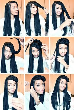 How To Style single Braids And pix of Different hot Styles Of Ghana weaving. - Fashion - Nigeria http://www.nairaland.com/2395510/how-style-single-braids-pix