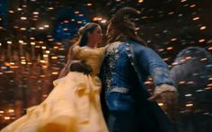 """Here's the new trailer for Disney's upcoming live-action adaptation of the studio's animated classic """"Beauty and the Beast"""" starring Emma Watson, Dan Stevens, Luke Evans, Kevin Kline, Josh Ga… Emma Watson, Walt Disney Movies, Film Disney, Disney Disney, Disney Stuff, Dan Stevens, Beauty And The Beast Movie, Beauty Beast, Tale As Old As Time"""