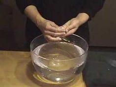 Wet Felting Wool Over Soap