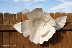 DIY Paper Leaves / Hojas de Papel   AvantiMorocha Blog