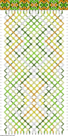 Muster # 92955, Streicher: 20 Zeilen: 40 Farben: 8