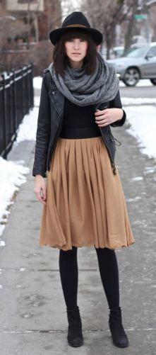 Fashion-експерт: спідницям в холодну пору носитися! | vylavcha