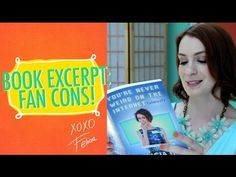 Reading From My Book: Fan Conventions! - YouTube