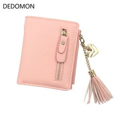 Humor Fashion Women Wallet Split Leather Short Design Zipper Hasp Card Holder Female Coin Purse Lady Leather Wallet Portefeuille Femme Wallets