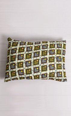 Tortoise Shell Hand-Sewn Pillow