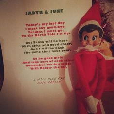 A way to do elf on the shelf and put a christian perspective on it elf on the shelf goodbye letter pronofoot35fo Images