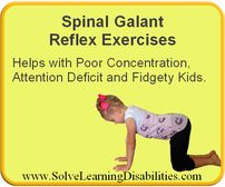 Spinal Galant Reflex Exercises