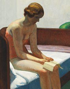 "last-picture-show: "" ""Edward Hopper, Hotel Room (Detail), 1931 "" "" Edward Hopper Obras, Edward Hopper Paintings, Figure Painting, Painting & Drawing, Edouard Hopper, American Artists, Picture Show, Figurative Art, Impressionism"