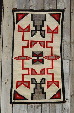 Ca1930s Churro Trading Post Navajo Rug Native American Indian Blanket Navaho | eBay