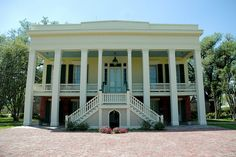 The main house at Bocage plantation Circa 1837