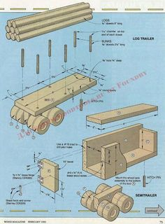 Diy Wooden Projects, Small Wood Projects, Woodworking Projects That Sell, Wooden Diy, Wood Crafts, Wood Toys Plans, Wood Plans, Wooden Toy Trucks, Wood Games