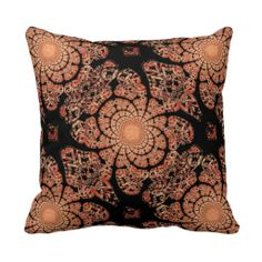 Black Smokey Lace & Inscense Pillow by Sharles