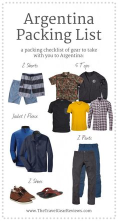 This Argentina travel packing list has a list of items to bring when visiting Buenos Aires, Argentina, Mendoza, etc. Argentnia packing list includes tips..
