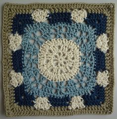 Ravelry: Project Gallery for Summer Romance Square pattern by April Moreland