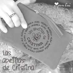 Handy CLUTCH compartido para la profe Sunglasses Case, Personalized Tote Bags, Accessories, Engraved Jewelry, Original Gifts, Teacher Bags