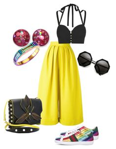 """""""Sunny in the Shade"""" by nonmember on Polyvore featuring Delpozo, Jonathan Simkhai, Gucci and Tory Burch"""