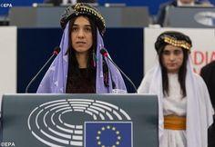 Rádio Vaticana - Nádija Murád Básí: Tzv. islámský stát musí být postaven před mezinárodní soud