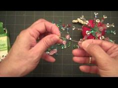 How to make beaded stick pins