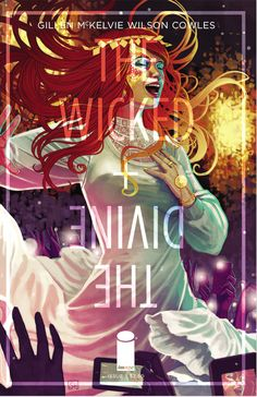 The Wicked and the Divine. Stephanie Hans art work.