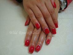 Wild Rose's Nails: Bluesky Wild Fire