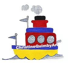 christinequimbyart | Art for Children