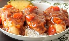 A delicious Slow Cooker Hawaiian chicken that only requires 5 essential ingredients.) can crushed pineapple 3 Slow Cooker Chicken Pasta, Slow Cooker Chicken Marsala, Stew Chicken Recipe, Chicken Pasta Recipes, Crock Pot Slow Cooker, Slow Cooker Recipes, Crockpot Recipes, Cooking Recipes, Hawaiian Chicken
