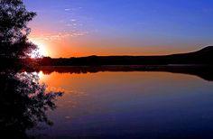 Sunset on Lake Pend Oreille near Sandpoint, North Idaho