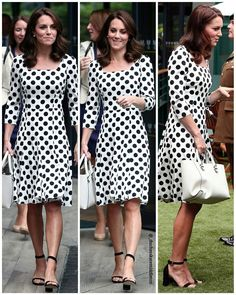"463 Likes, 8 Comments - Catherine elizabeth (@_duchesskatemiddleton) on Instagram: ""#NEWS #NEW #TODAY Catherine, The Duchess of Cambridge at Wimbledon! The Duchess is wearing a dress…"""