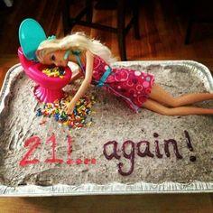 Barfing Barbie