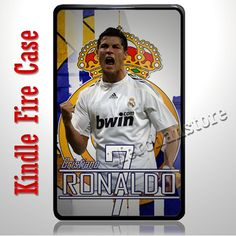 Cristiano Ronaldo CR7 Real Madrid Football Player Kindle Fire Case | Merchanstore - Accessories on ArtFire
