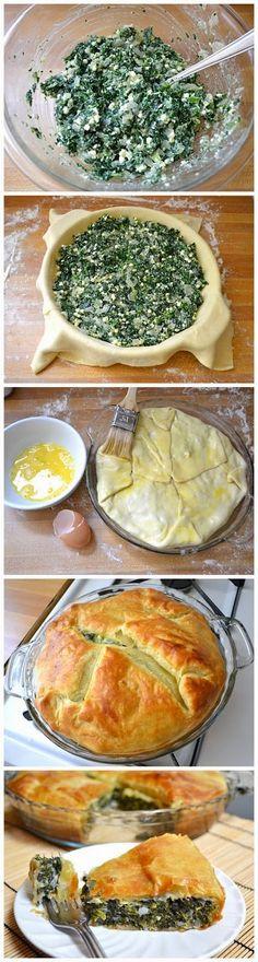 spinach pie ~ Best Recipe Photos