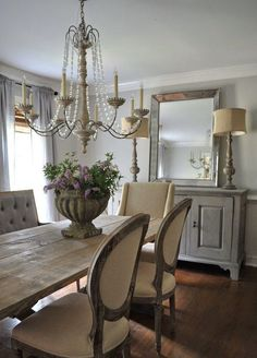 Farmhouse dining room designs