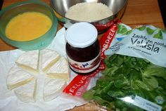 Gebakken camembert met preiselbeeren - Keuken♥Liefde