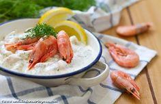 Andalusian Auringossa_ruokablogi_raksallad_skagenrora_katkarapusalaatti_katkaraputahna_gluteeniton
