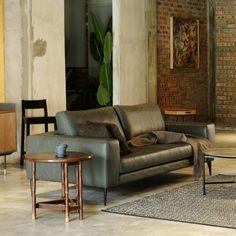 Sofas - ruma 3 Seater Sofa, Sectional Sofa, Sofas, Vintage Sofa, Vintage Leather, Living Furniture, Home Furniture, Target Living Room, Pebble Grey