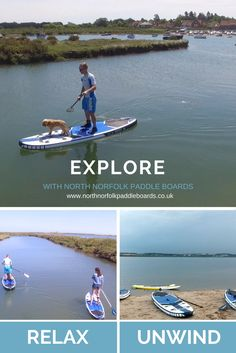 Exploring the creeks of Burnham Overy Staithe on a Paddle Board on the North Norfolk Coast with North Norfolk Paddle Boards