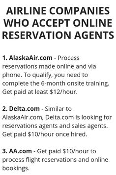 Airline Companies Who Accept Online Reservation Agents - Wisdom Lives Here Earn Money From Home, Earn Money Online, Online Jobs, Way To Make Money, Legit Work From Home, Work From Home Jobs, Work From Home Opportunities, Money Management, Money Saving Tips