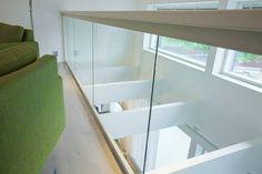 Timber-mallin kerroskaide toisessa kerroksessa.
