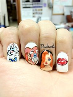 Nail arts by Bedizzle: March 2012