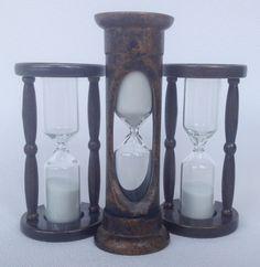 Sablier triple en vente à la Boutique du Musée Site Archéologique, Hourglass, Home Decor, History Websites, Homemade Home Decor, Decoration Home, Interior Decorating