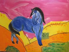 During the month of March my preschool class did two lessons based on the artist Franz Marc. Thevivid use of color to express emotions and ...
