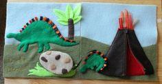 Reader Gallery – Dinosaur Quiet Book Page