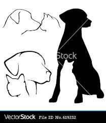 dog and cat silhouette - Google Search