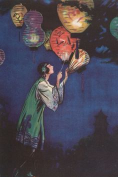 Chinese lantern - Webster Murray