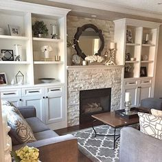 These Shelves Are Just Decorated Perfectly. Actually The Whole Space Of My  Sweet Friend Rose @househaven Is Gorgeous. Iu0027m Definitely Getting  Inspiration For ...